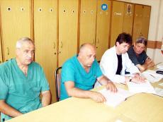доктори на хирургично отделение